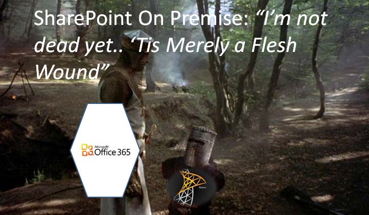 SharePoint IS NOT DEAD