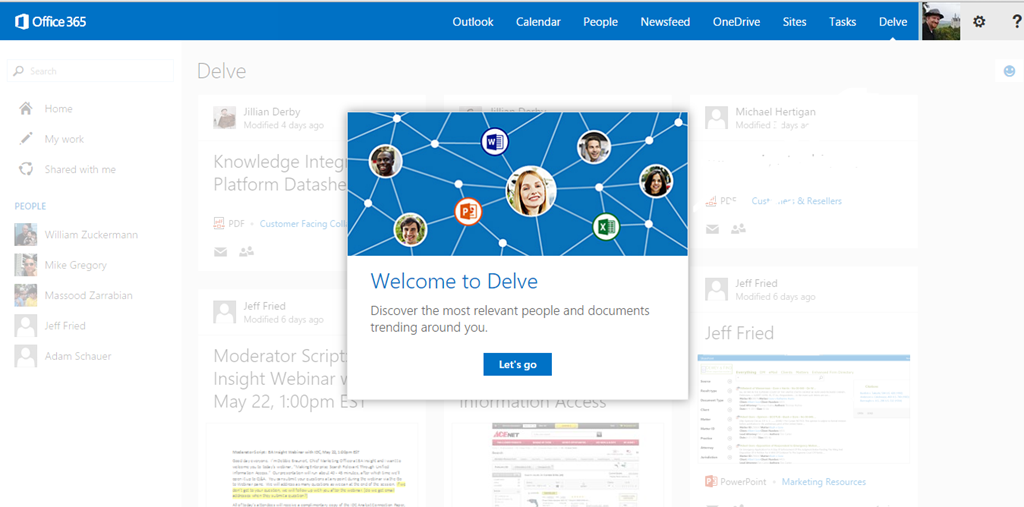 Microsoft Announces Delve Availability - Delve Hits the Shelves