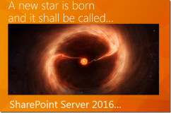 SharePoint Server 2016 to be revealed at Ignite!